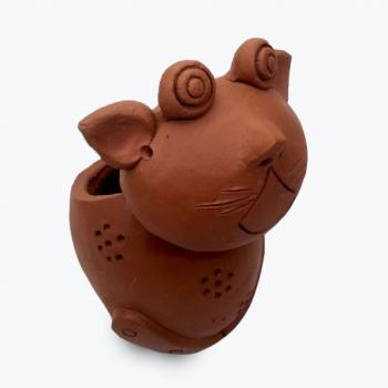 Cat shaped pot (s)