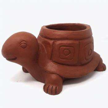 Turtle shaped pot