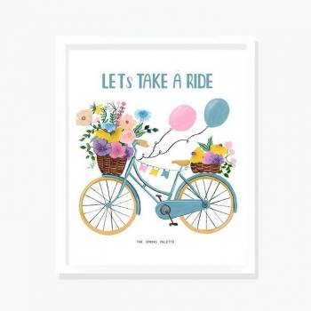 Lets take a ride- Wall Art...
