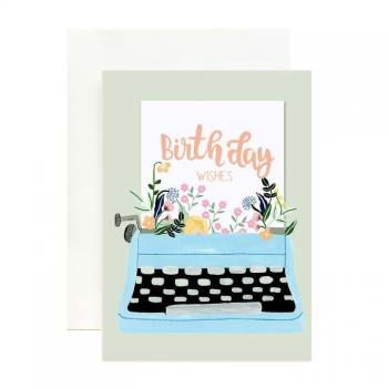 Birthday Typewriter...