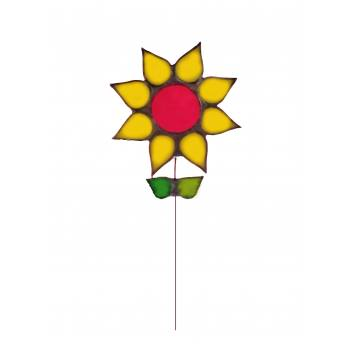 Stained Glass Sunflower...